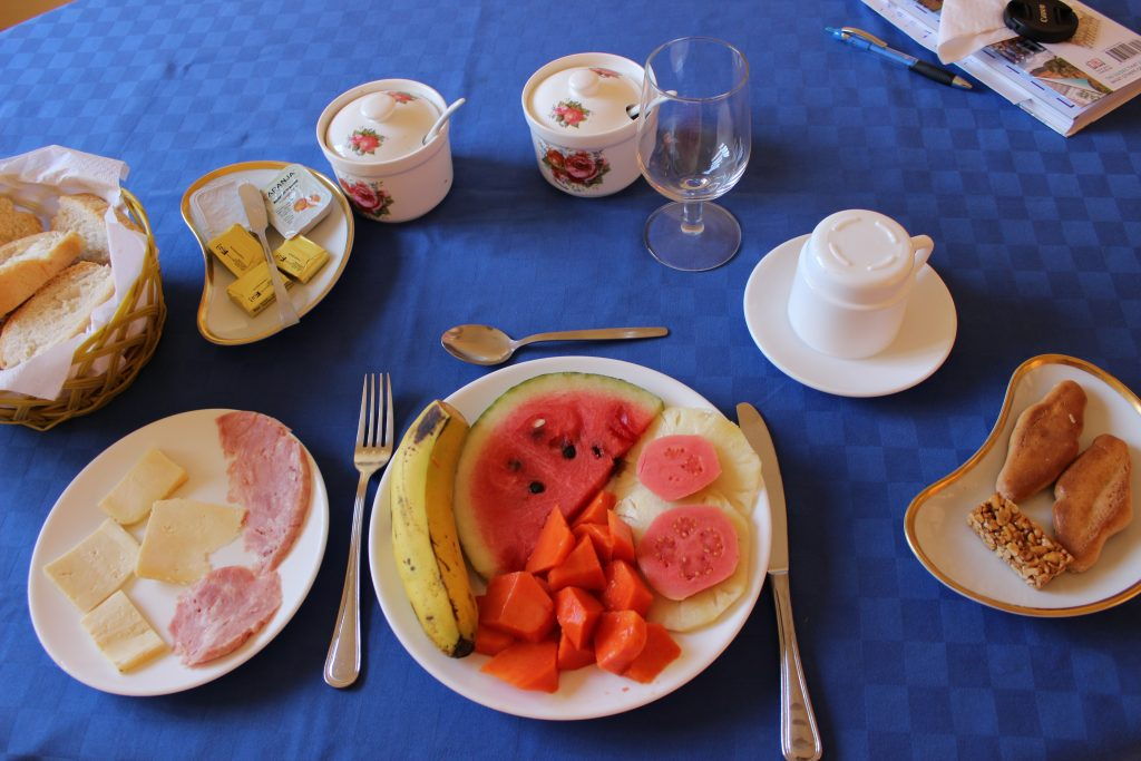 A breakfast at Trinidad's Casa Magaly reveals the local bounty of tropical fruit available.