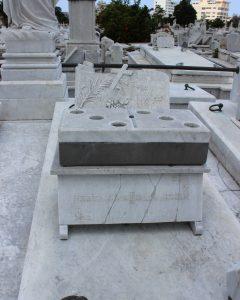 "The ""Domino"" tomb"