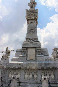 Fireman's Monument in Havana's Colon Cemetery