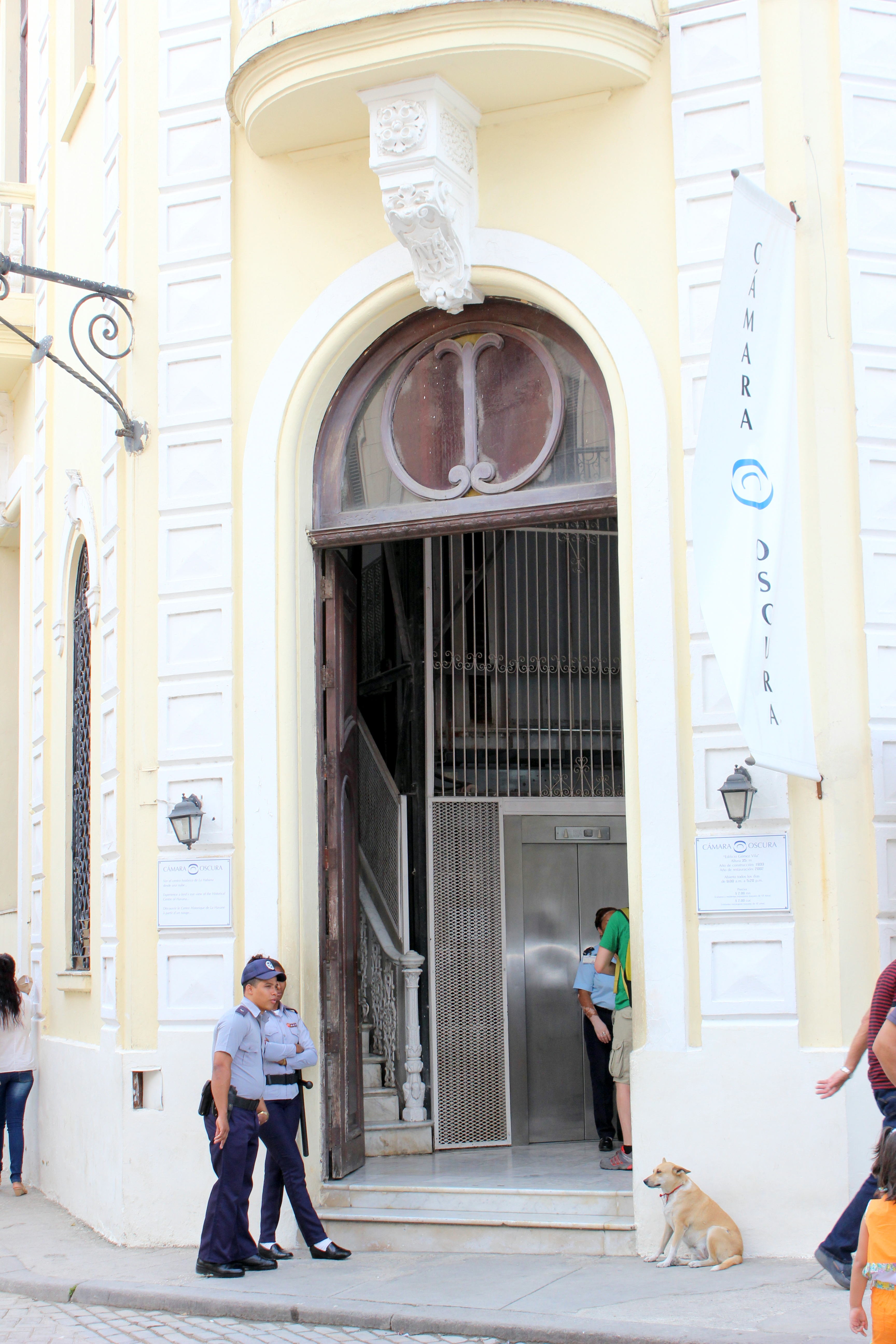 A gift from the Council of Cadiz, Spain, to the City Historian's Office, Havana's Cámara Oscura is the only one of its kind in Latin America and the Caribbean.
