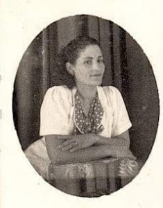 Maternal grandmother Sabina Regrera in an undated photo taken when she lived in Cuba. Photo courtesy Taide Rodriguez.